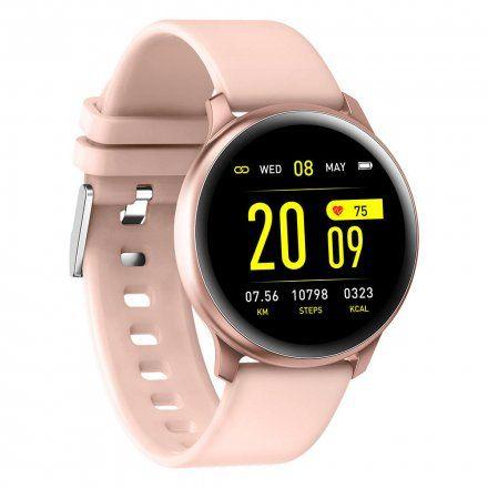 Różowy smartwatch G.Rossi SW010-2