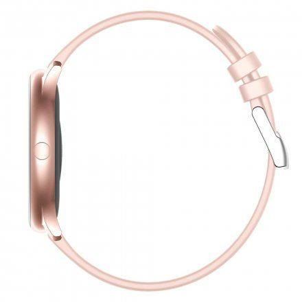 Różowy smartwatch Gino Rossi SW010-2