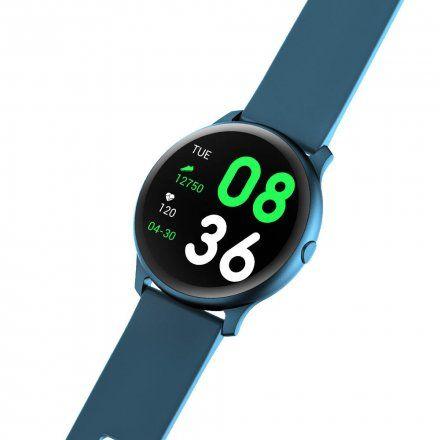 Granatowy smartwatch Gino Rossi SW010-3