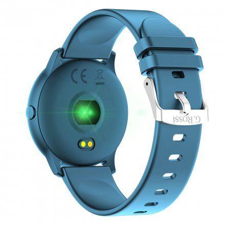 Granatowy smartwatch G.Rossi SW010-3
