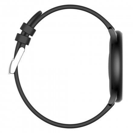 Czarny smartwatch Gino Rossi SW010-4