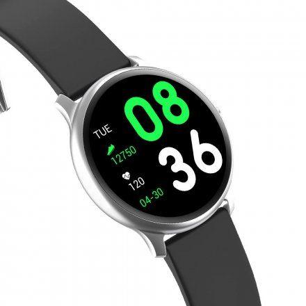 Srebrny smartwatch Gino Rossi SW010-5