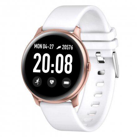 Różowozłoty smartwatch G.Rossi SW010-7