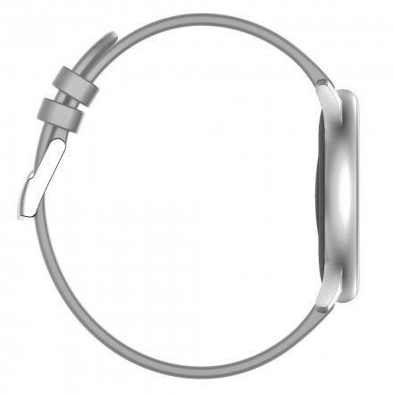 Srebrny smartwatch G.Rossi SW010-9