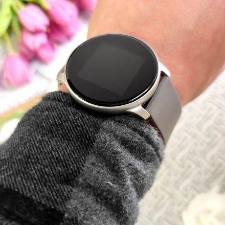 Srebrny smartwatch Gino Rossi SW010-9