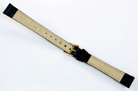 Czarny pasek skórzany 21 mm HIRSCH Duke 01028050-2-21 (L)