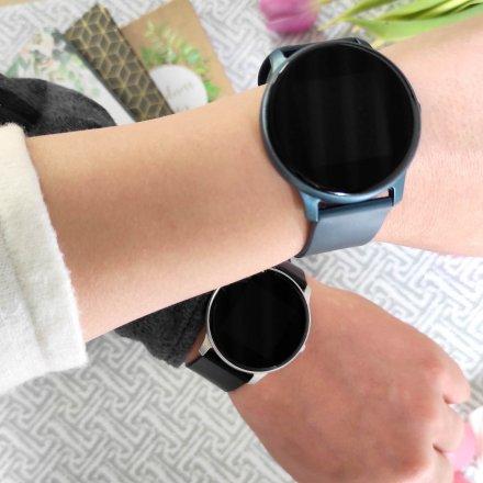 Granatowy smartwatch G.Rossi SW010-12