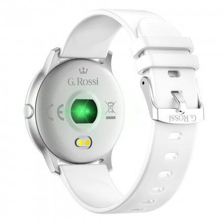 Srebrny smartwatch G.Rossi SW010-15
