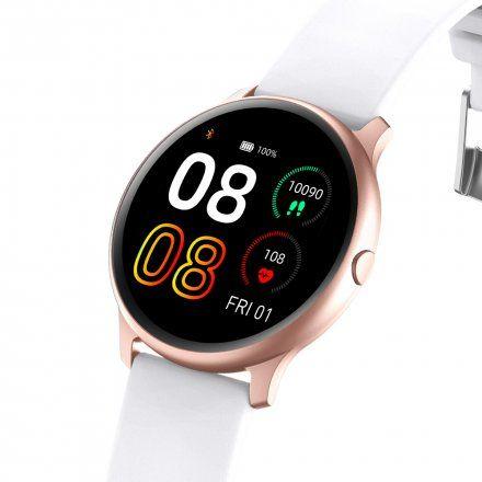 Różowozłoty smartwatch G.Rossi SW010-16