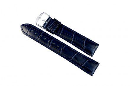 Niebieski pasek skórzany 18 mm HIRSCH Duke 01028080-2-18 (L)