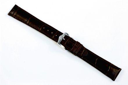 Brązowy pasek skórzany 14 mm HIRSCH Duke 01028110-1-14 (M)