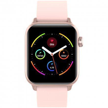 Różowy smartwatch G.Rossi SW013-1