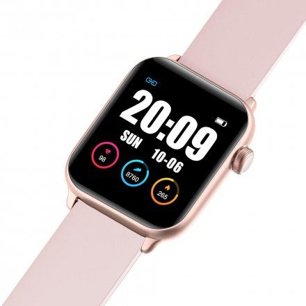 Różowy smartwatch Gino Rossi SW013-1