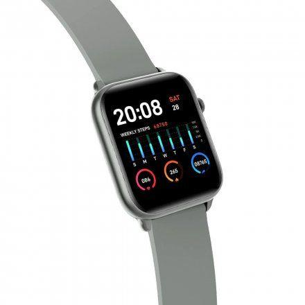 Srebrny smartwatch Gino Rossi SW013-2