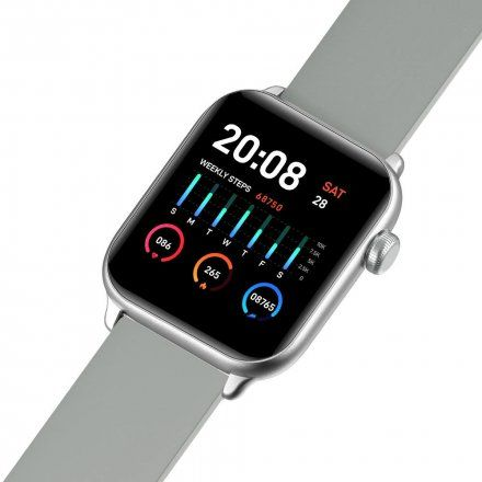 Czarny smartwatch G.Rossi SW013-2