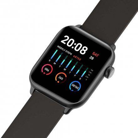 Srebrny smartwatch Gino Rossi SW013-3