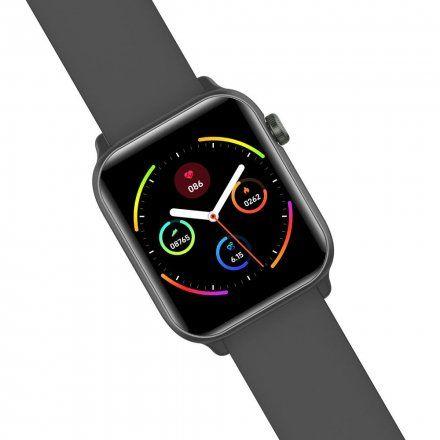 Czarny smartwatch Gino Rossi SW013-3