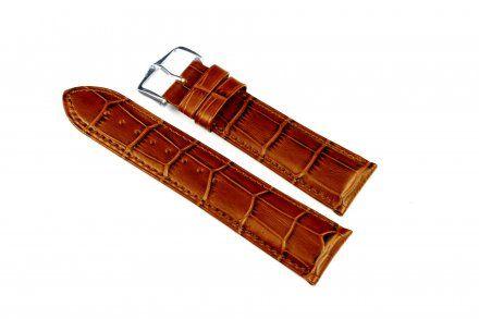 Jasnobrązowy pasek skórzany 13 mm HIRSCH Duke 01028170-1-13 (M)
