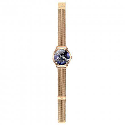 Różowozłoty smartwatch G.Rossi SW014-2