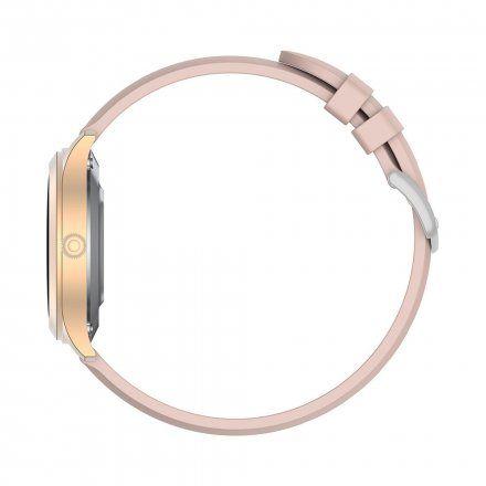 Różowozłoty smartwatch Gino Rossi SW014-3
