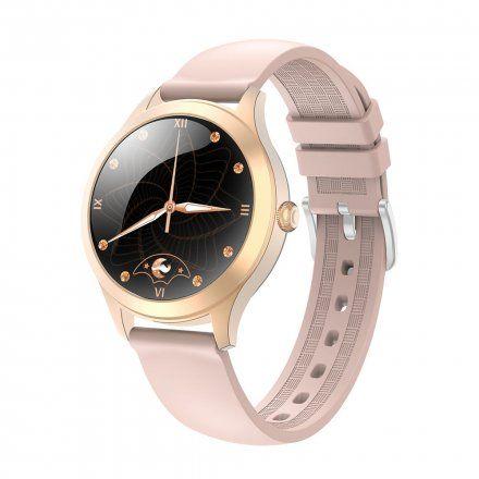 Różowozłoty smartwatch G.Rossi SW014-3