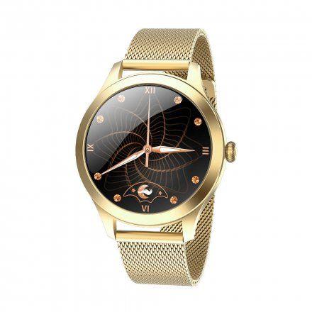 Złoty smartwatch Gino Rossi SW014-4