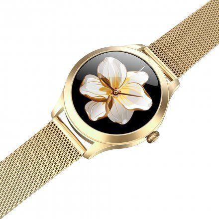 Złoty smartwatch G.Rossi SW014-4