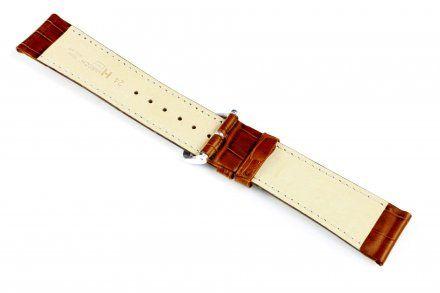 Jasnobrązowy pasek skórzany 18 mm  HIRSCH Duke 01028170-1-18 (M)