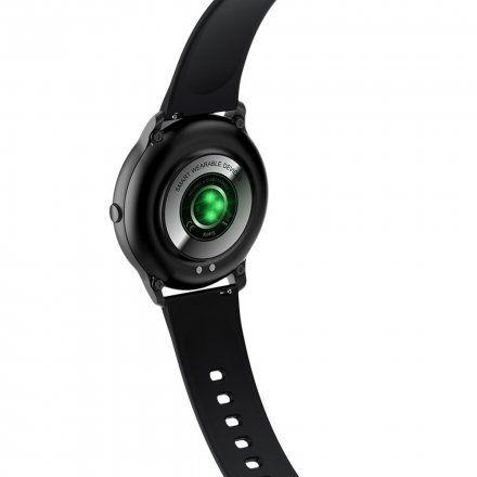 Czarny smartwatch Gino Rossi SW015-1