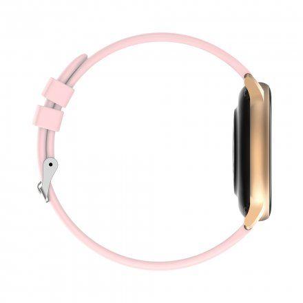 Różowozłoty smartwatch G.Rossi SW015-2