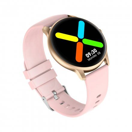 Różowozłoty smartwatch Gino Rossi SW015-2