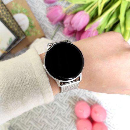 Srebrny smartwatch G.Rossi SW015-3