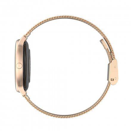 Różowozłoty smartwatch Gino Rossi SW015-4