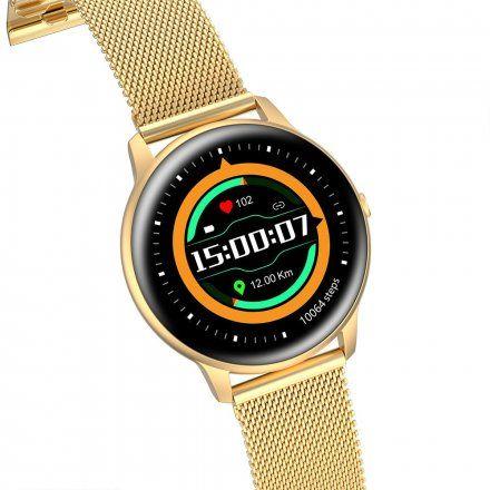 Złoty smartwatch G.Rossi SW015-5