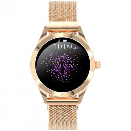 Złoty smartwatch damski G.Rossi SW017-1