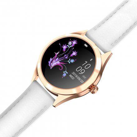 Złoty smartwatch damski Gino Rossi SW017-2
