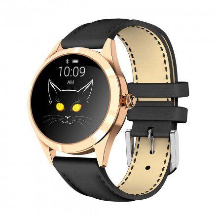 Złoty smartwatch damski G.Rossi SW017-3