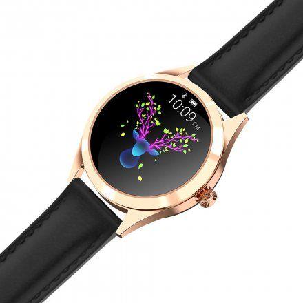 Złoty smartwatch damski Gino Rossi SW017-3