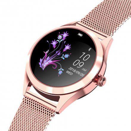 Różowozłoty smartwatch damski Gino Rossi SW017-4