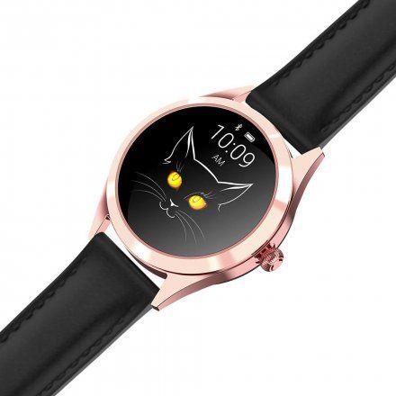 Różowozłoty smartwatch damski Gino Rossi SW017-6