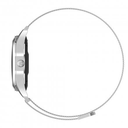 Srebrny smartwatch damski G.Rossi SW017-7