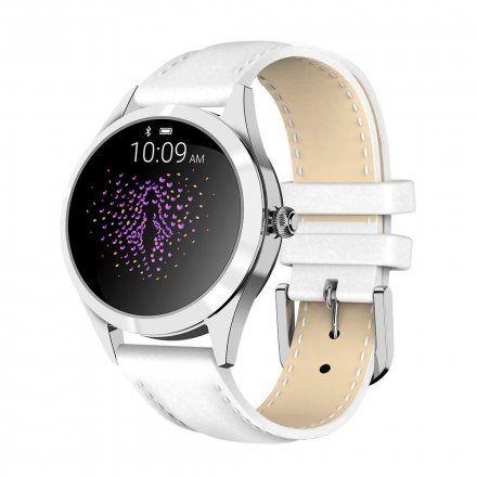 Srebrny smartwatch damski Gino Rossi SW017-8