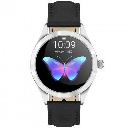 Srebrny smartwatch damski Gino Rossi SW017-9