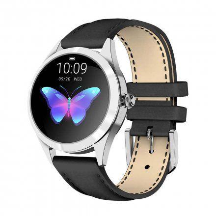 Srebrny smartwatch damski G.Rossi SW017-9