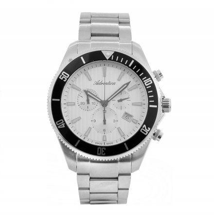 Zegarek Męski Adriatica A1139.5113CH - Chronograf Swiss Made