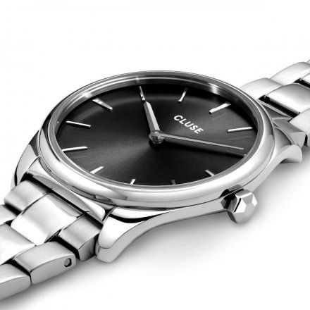 Zegarek damski Cluse Féroce Petite srebrny CW11202