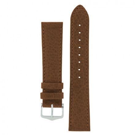 Brązowy pasek skórzany 16 mm HIRSCH Kansas 01502010-2-16 (L)