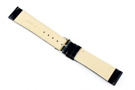 Czarny pasek skórzany 19 mm HIRSCH Kansas 01502050-2-19 (L)