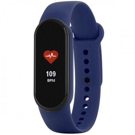 Niebieska opaska sportowa Smartband Marea B57007/2