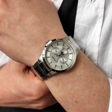 Zegarek Męski Adriatica na bransolecie A1145.4113QF - Multifunction Swiss Made